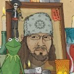 David Foster Wallace by Photo: Wesley Merritt