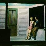 Edward Hopper, Summer evening (1947)